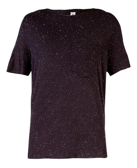 Camiseta Masculina Em Malha Botonê Com Bolso Hering
