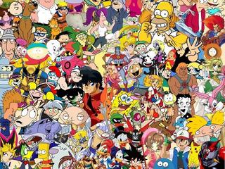 Caricaturas Retro