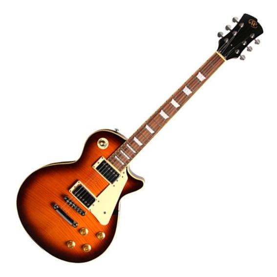 Guitarra Sx Les Paul Ef3 Lp Séries Ds Sunburst Oferta