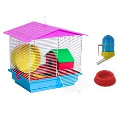 Gaiola Para Criar Hamster Topolino Bem Pequeno