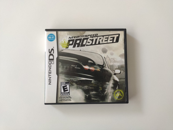 Need For Speed Pro Street Nintendo Ds 3ds 2ds Completo Usado