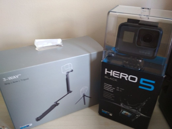 Gopro Hero Black 5 + Tripé