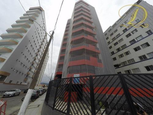 Apartamento Com 2 Dormitórios À Venda, 86 M² Por R$ 260.000,00 - Mirim - Praia Grande/sp - Ap4095