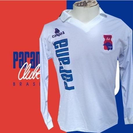 Camisa Retro Campeão Parana Clube Branca Ml
