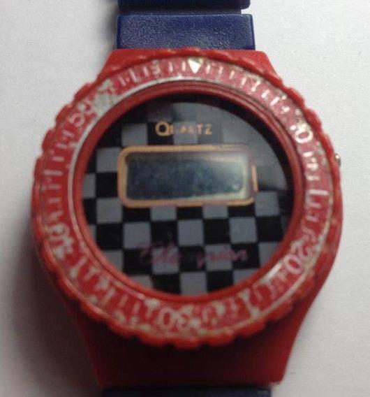 Relógio Digital Champgion Quartz Troca De Pulseiras Vintage