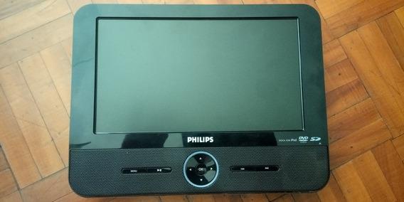 Dvd Portátil Philips Con Entrada Para iPod