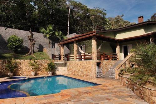 Chácara Com 3 Dormitórios À Venda, 2000 M² Por R$ 2.200.000 - Copaco - Arujá/sp - Ch0082