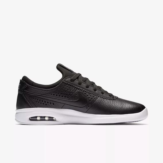 Zapatillas Nike Sb Air Max Bruin L Black Dark Grey 001 Cuero