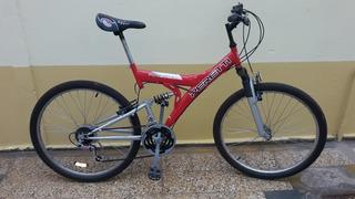 Bicicleta Mountain Bike Mtb Rodado 26 Doble Amortiguación