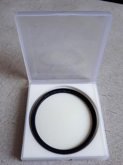 Filtro B+ W 72mm 010 Uv Haze 1x - Perfeito.
