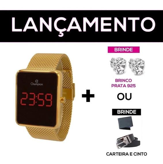 Relógio Champion Digital Led 100% Original + Nf + Brindes