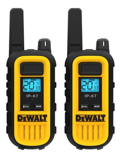 Handy X 2 Dewalt Dxfrs300 Radio Walkie Talkie Resistente