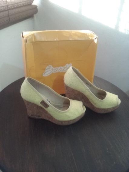 Sapatos Barth Peep Toe Tamanho 36