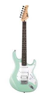 Guitarra Electrica Cort G110 Cream Green