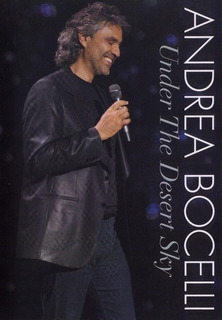 Andrea Bocelli - Under The Desert Sky. En Vivo. Dvd.