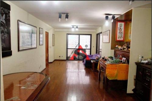 Apartamento Com 3 Dormitórios À Venda, 137 M² Por R$ 898.000,00 - Aclimação - São Paulo/sp - Ap43682