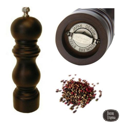 Imagen 1 de 3 de Molinillo Para Pimienta Mecanismo De Acero Inox, Alto: 18cm
