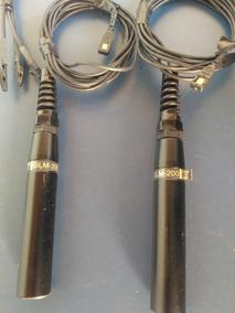 Microfone Miniatura Crown Glm-200 Condensador Made Usa