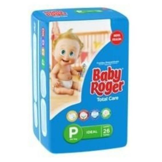 Baby Roger Ideal Fralda Infantil P C/26