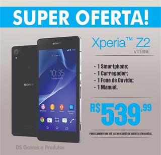 Celular Sony Xperia Z2 D6503 Tv, 16gb 4g Vitrine Roxo