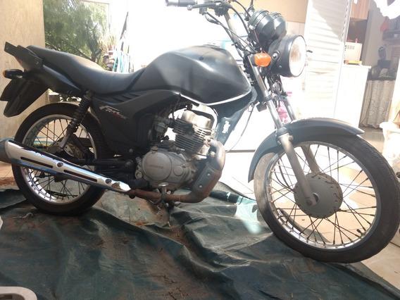 Linda Moto Honda Fam 125 Es Já Envelopada E Funcionando Tudo