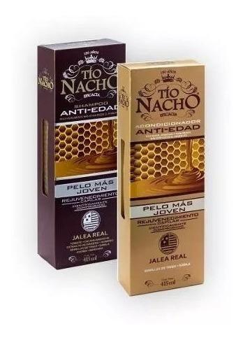 Tio Nacho Kit Shamp + Acond Anti Edad Magistral Lacroze