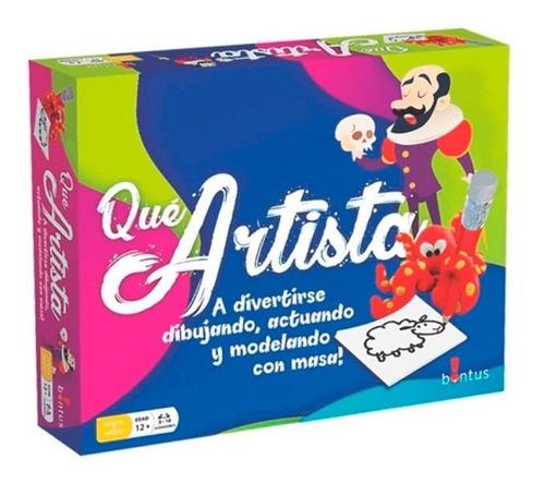 Juego De Mesa Bontus Que Artista! E. Full