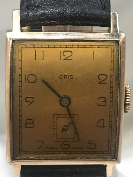 Relógio Oris Art Deco Curvex Calibre 291 Relogiodovovô.