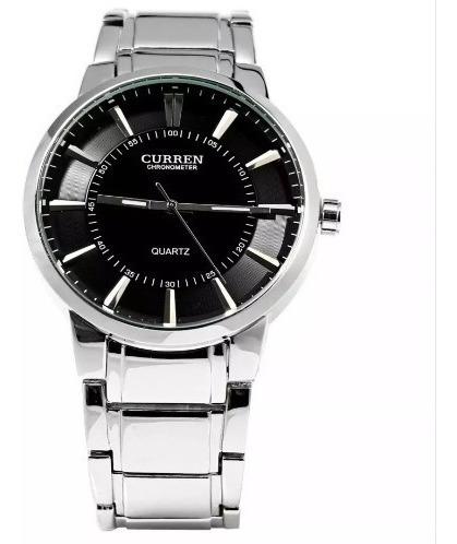 Relógio Masculino Curren De Pulso Elegante Barato