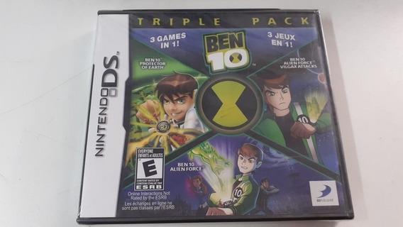 Jogo Nintendo Ds Ben 10 Triple Pack