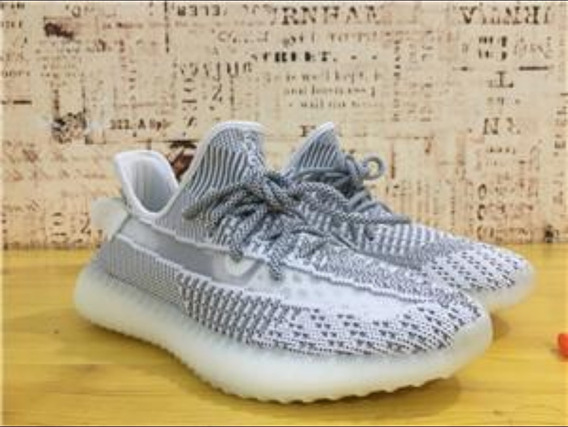 adidas Yeezy Boost 350 V2 Static Reflective Tam 42br C Caixa