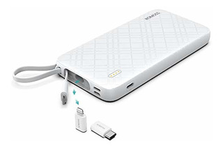 Romoss 10000mah Portable Charger With Built-in
