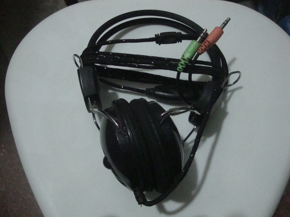 Fone Grande De Ouvido Com Dois Plugs De Entrada-komc