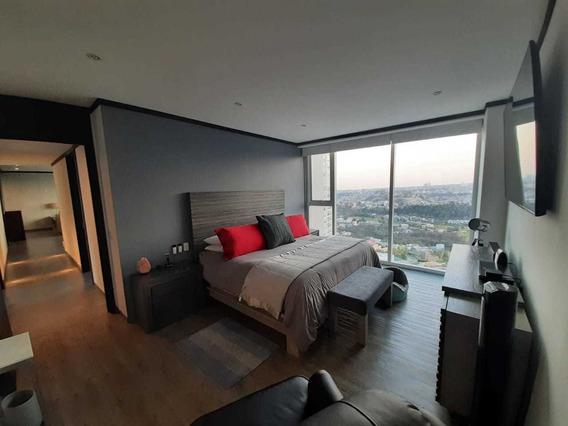 Departamento 2 Recámaras + Family Room En Bosque Real Towers