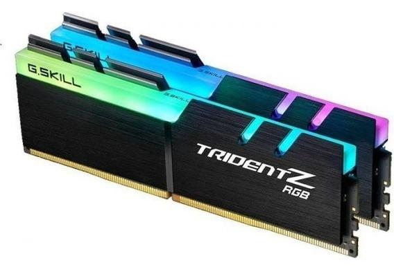 Memória G.skill Trident Z 32gb (2x16gb) 3200mhz Ddr4