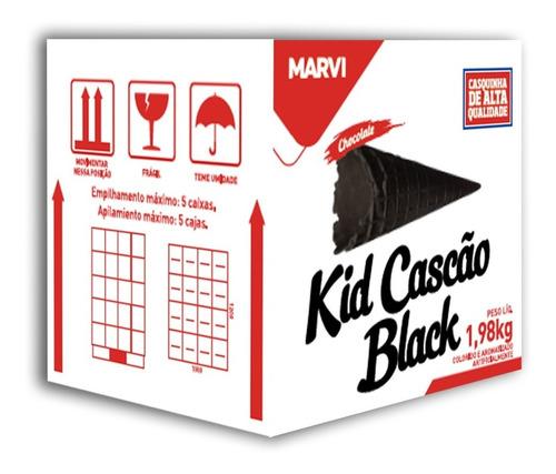 Kid Cascão Black 1,98 Kg C/120 Marvi