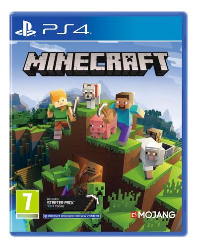 Imagen 1 de 1 de Minecraft - Ps4 Fisico Nuevo Y Sellado