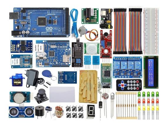Kit Arduino Master Mega 2560 Ethernet Wifi Automação V 2019