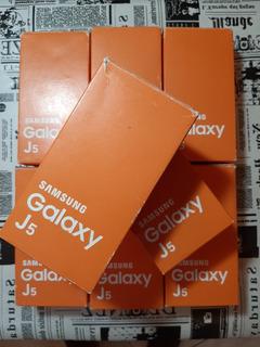 Celular Samsung J5 Lote Com 6 Peças Na Caixa Completo