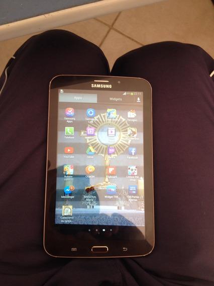 Tablet Samsung T211 , Com Senha , Tem Que Desbloquear