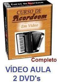 Acordeon! Aulas De Acordeon Em 2 Dvds! Pague Mercado Pago 1