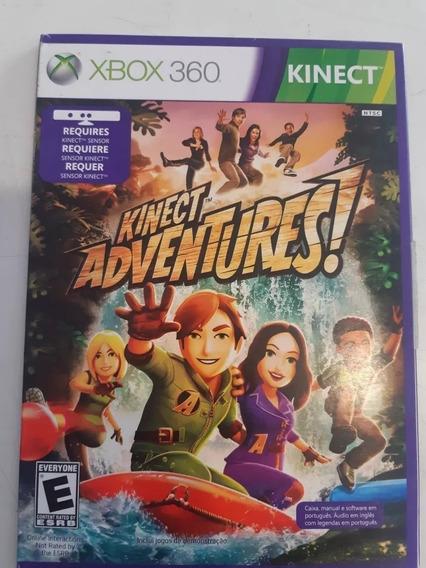 Kinect Adventures Mídia Física Xbox 360