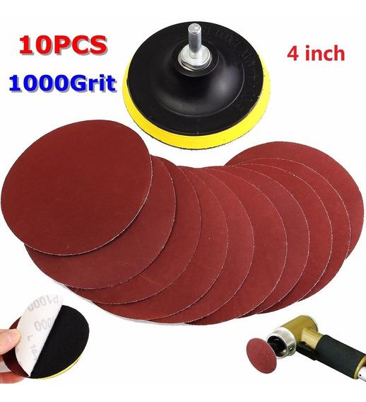 /Almohadilla para pulido disco de papel de lija jrl 4/pulgadas 100/mm 800/grano lijadora lija de disco/