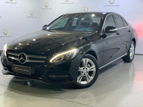 Mercedes Benz C180 Exclusive 1.6 Preto