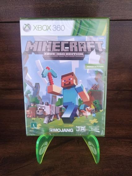 Jogo Minecraft Xbox 360 Lacrado