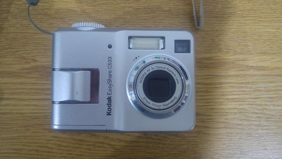 Cámara Kodak Easyshare C533 Con Funda Y Memoria