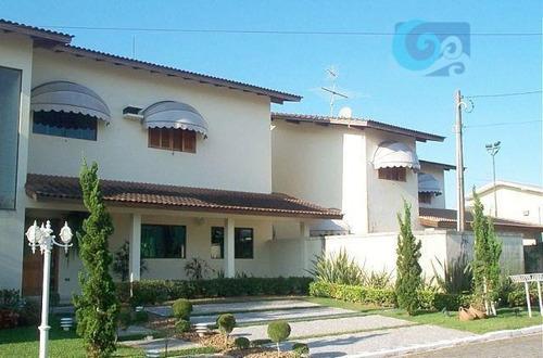 Imagem 1 de 15 de Casa No Condomínio Jardim Acapulco - Guarujá - Ca0697