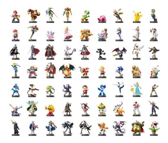 Qualquer Amiibo À Sua Escolha Kit C/ 2 Cards + De 150 Opções