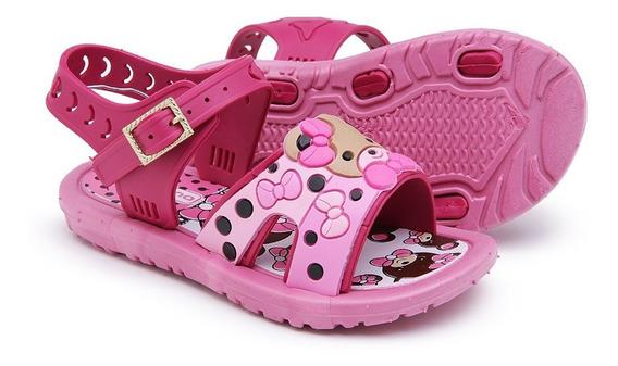 Chinelinho Sandália Infantil Bebê Feminino Resistente 3509