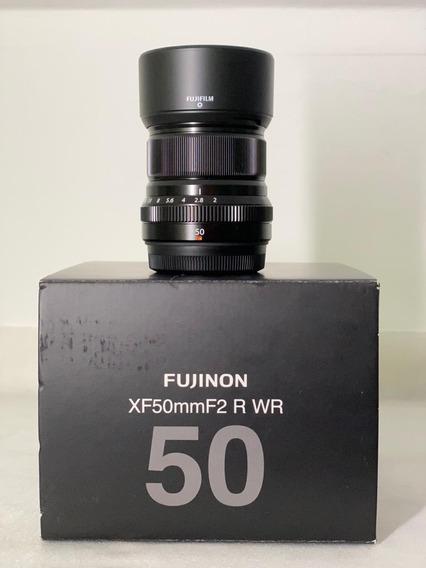 Lente Fuji Filme Fujinon Xf 50mm F2 R Wr